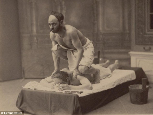 Грузинский спа-салон в Тбилиси в 1890 году