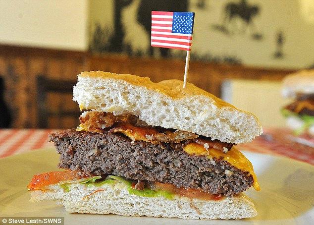 Королевский Бургер: самый большой гамбургер в Европе (Англия)