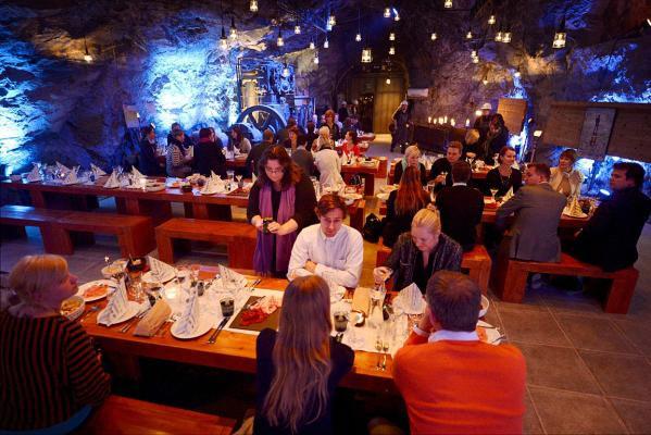 Ресторан Muru: ужин на глубине 80 метров (Финляндия)