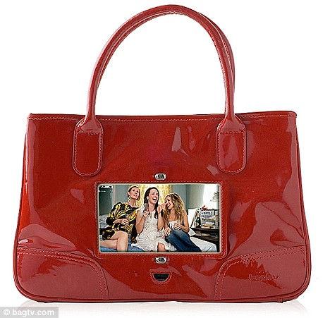BagTV: сумочка с телевизором (Англия)