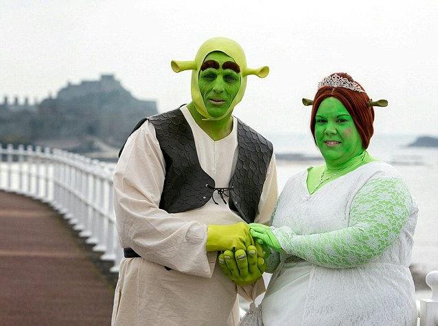 Когда людоеды не страшны: свадьба Шрека и Фионы