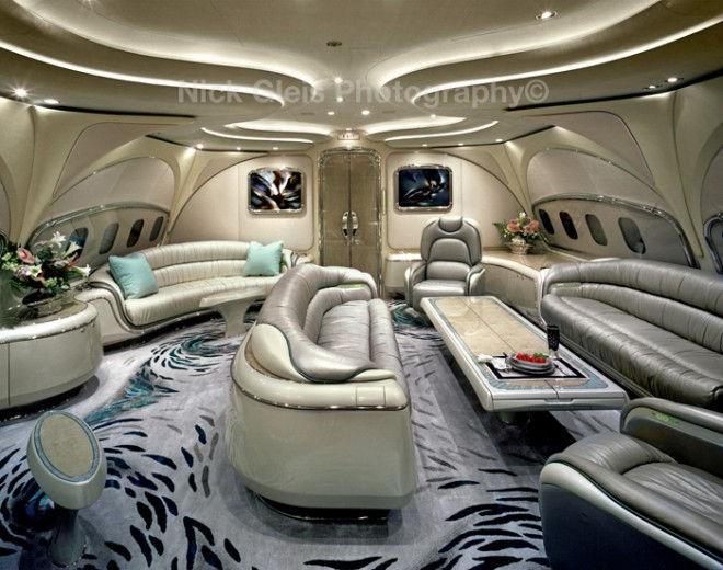 Самые роскошные интерьеры самолетов в мире