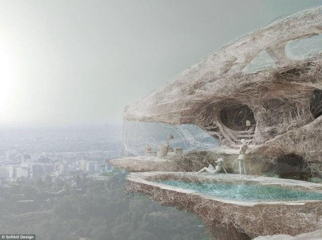 Protohouse 2.0: дом будущего из паутины (Англия)