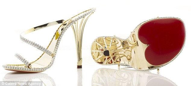 Самые дорогие босоножки в мире от Кристофера Шеллиса