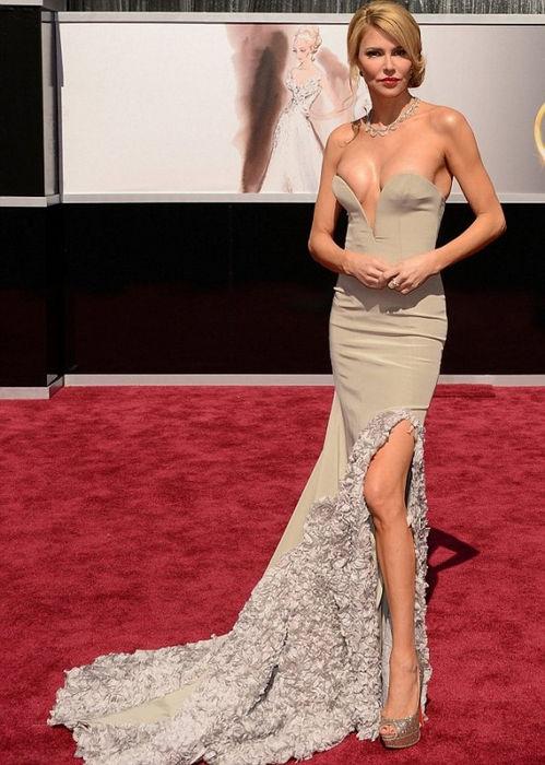 85-я церемония награждения премии «Оскар»: декольте 2013 (США)
