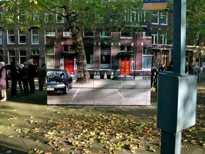 Замаскированные общественные здания от Роланда Оттена