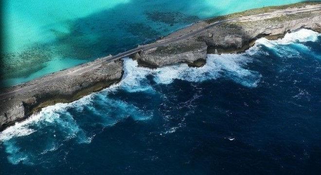 Glass Window Bridge: граница между Атлантикой и Карибским морем