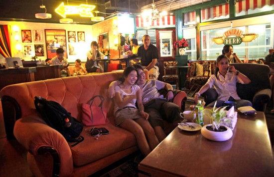 Кафе Central Perk в Китае