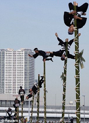 Dezome-shiki: парад спортивного пожаротушения 2013 (Япония)