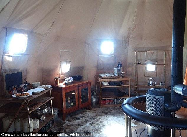 Отель Whichaway: суровый отдых в Антарктиде