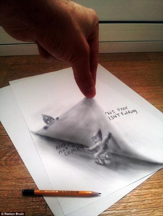 Рамон Бруин: 3d визуализация с помощью аэрографа