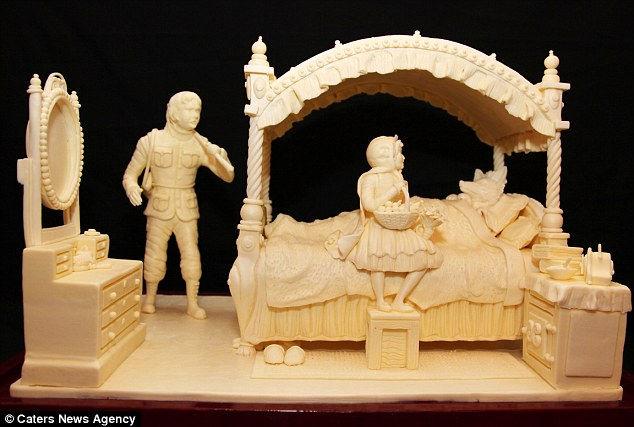 Скульптуры из масла от Випулара Азукорала (Индия)