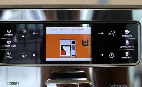Philips Saeco Xelsis: кофе по отпечатку пальца