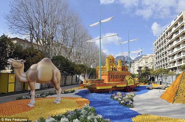 Фестиваль лимонов 2013 (Франция)
