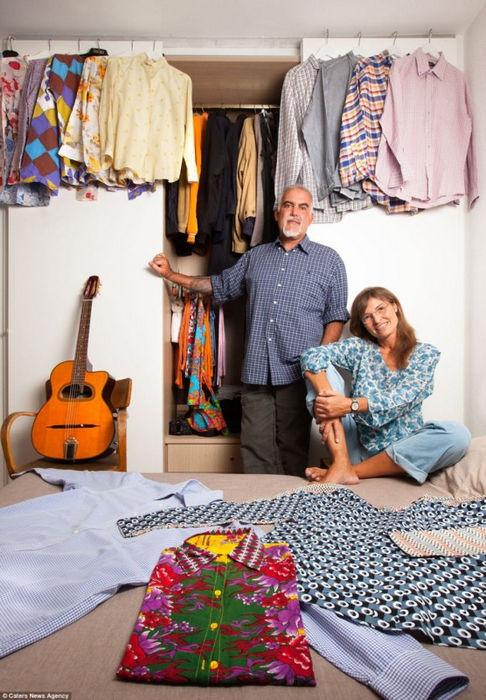Итальянский стиль: фотографии шкафов миланцев от Пьетро Барони
