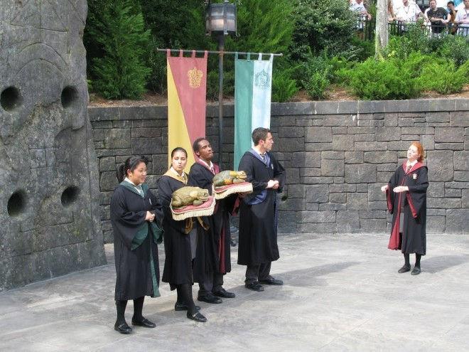 Тематичный парк Гарри Поттера в Орландо (США)