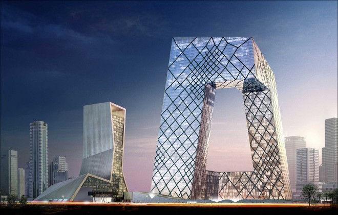 Необычная архитектура: штаб-квартира CCTV (Китай)