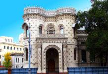 Необычная архитектура Москвы: особняк Арсения Морозова (Россия)