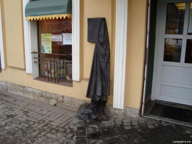 Неизвестные места Санкт-Петербурга: памятник Муму (Россия)