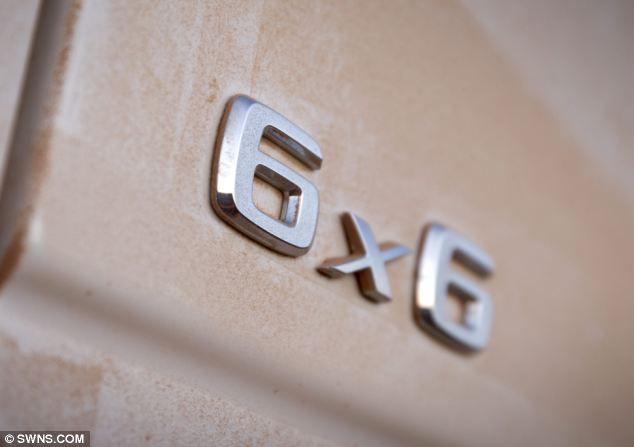 Mercedes G63 AMG: первая 6-колесная модель