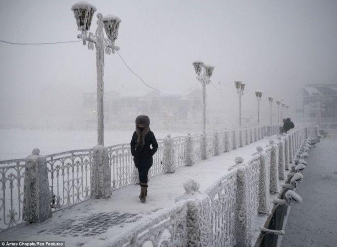 Оймякон – полюс холода (Россия)