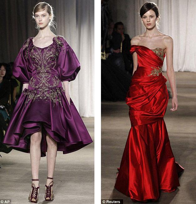 New York Fashion Week: XVII век возвращается (США)