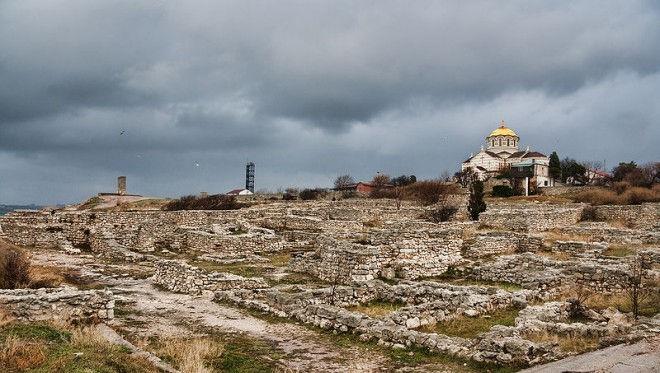 Расцвет и падение Херсонеса (Крым, Украина)