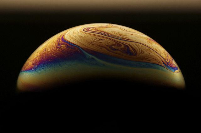 Джеймс Тозер: ландшафты планеты в мыльных пузырях