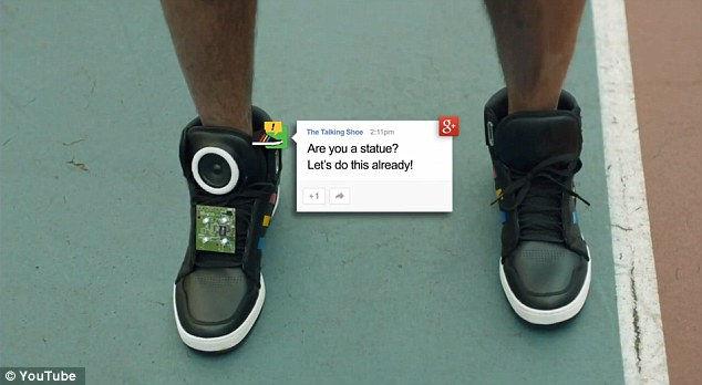 Интеллектуальные кроссовки от Google