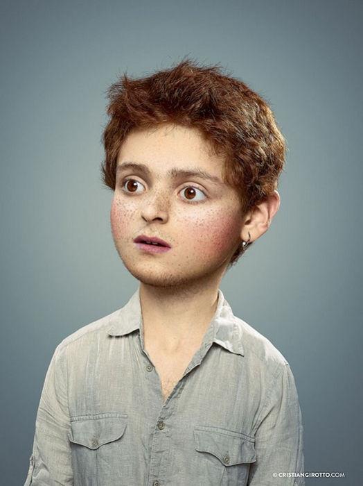 Фотопроект Inner Child взрослые как дети от Кристиана Джиротто