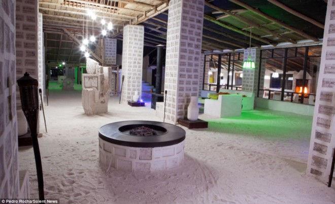 Паласио-де-Саль: отель из соли (Боливия)