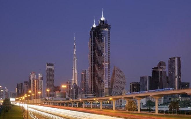 JW Marriott Marquis Dubai: самый высокий отель в мире (ОАЭ)