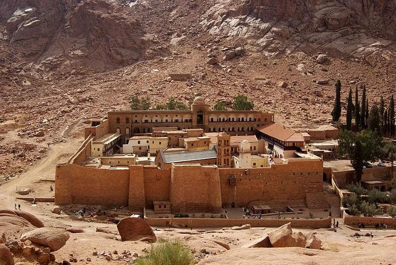 Монастырь Святой Екатерины в Египте