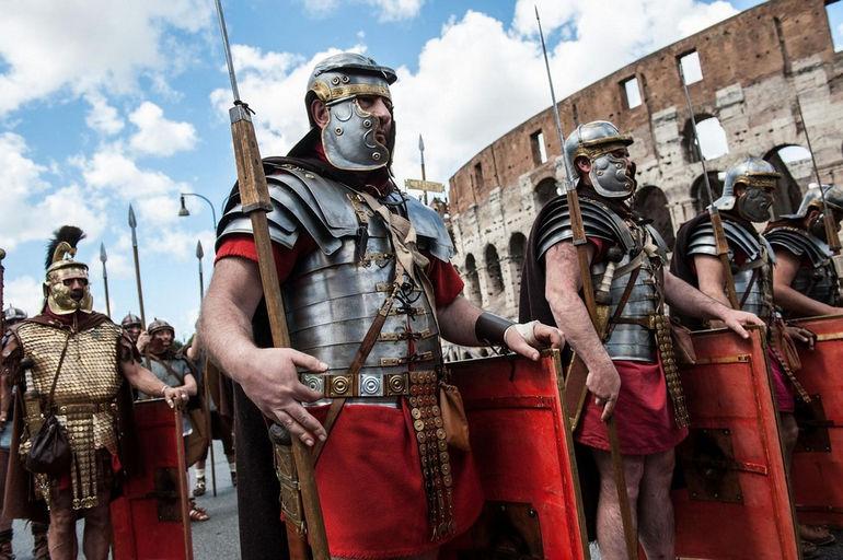 Natale di Roma: Рим празднует 2766-летие (Италия)