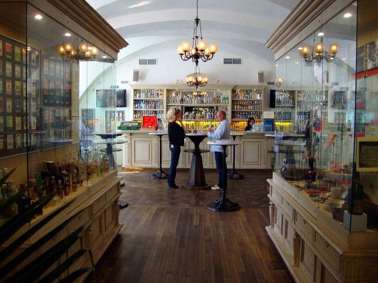Музей водки в Санкт-Петербурге (Россия)