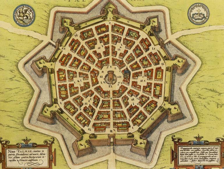 Пальманова: идеальный город (Италия)
