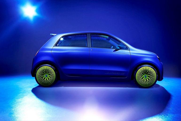 Renault Twin'Z: «органический» прототип электрического будущего