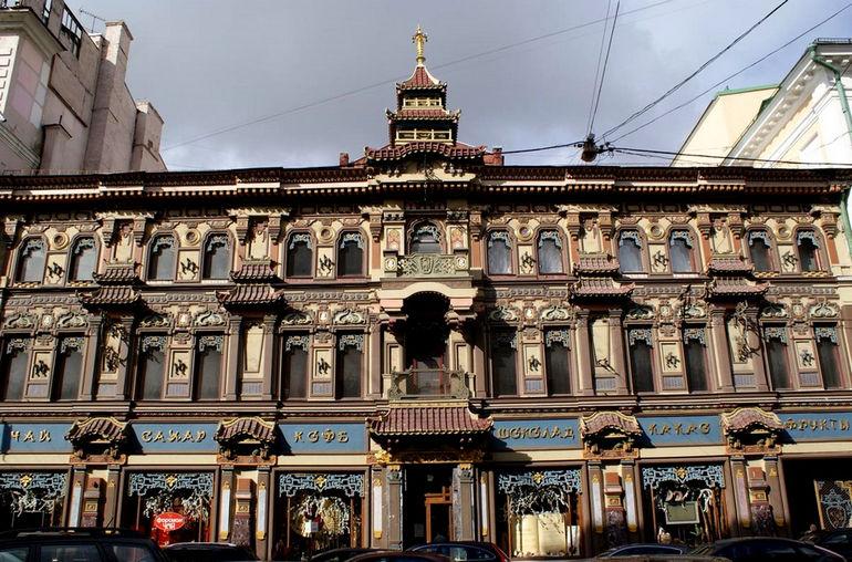 Чайный дом Перлова на Мясницкой, 19 (Россия)
