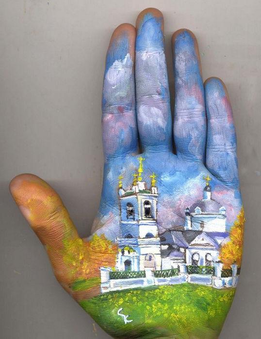 Картины на ладони от Светланы Колосовой (Россия)