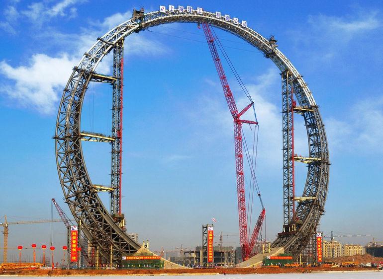 Кольцо Жизни: необычное здание в Китае