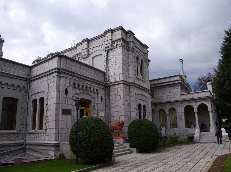 Юсуповский дворец в Кореизе