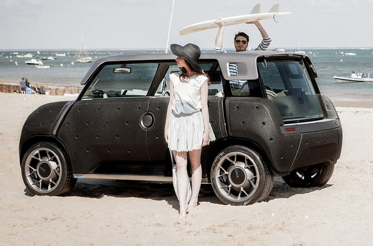 Toyota ME.WE: кабриолет без излишеств