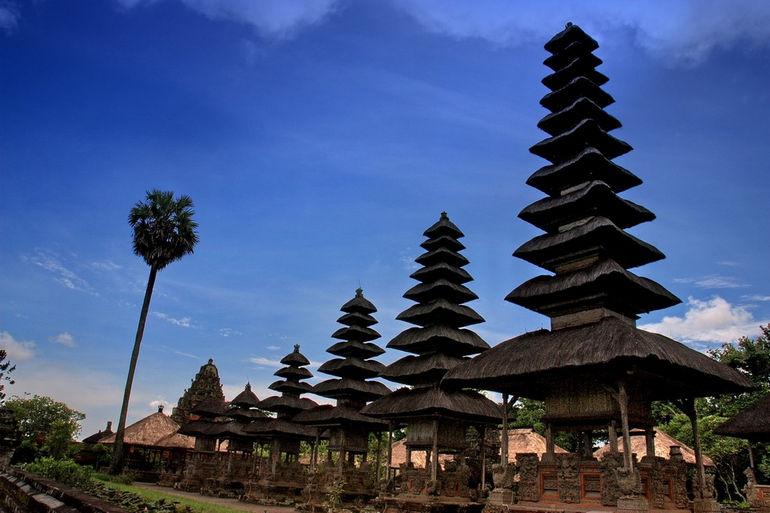 Храм Пура Таман Аюн на Бали (Индонезия)