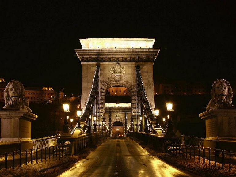 Цепной мост Сечени в Будапеште