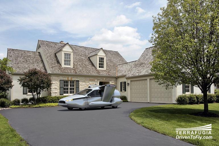Transition TF-X: автомобиль с вертикальным взлетом