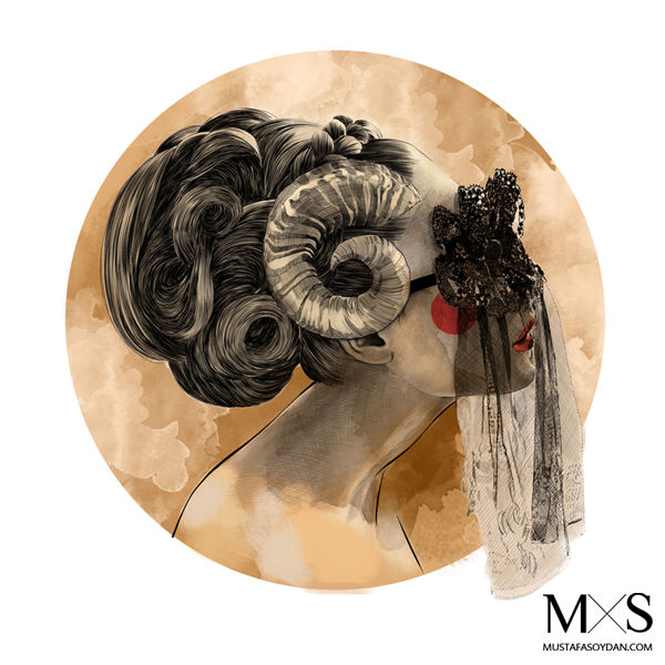 Знаки зодиака в прическах от Мустафы Сойдэн