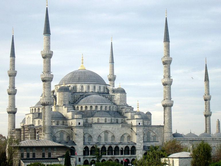Голубая мечеть Стамбула