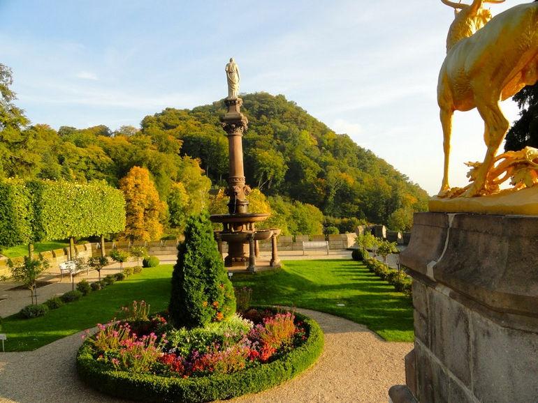 Сказочный замок Драхенбург (Германия)