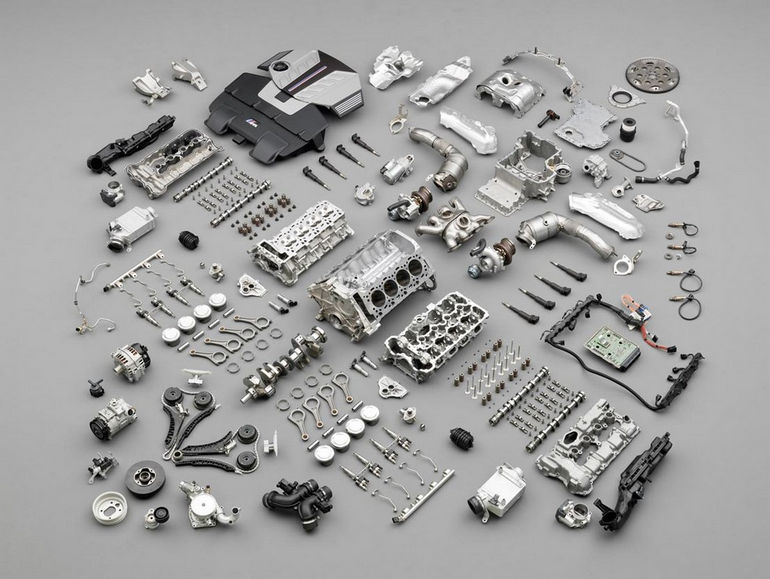 M TwinPower Turbo: Exploded view. (04/2009)