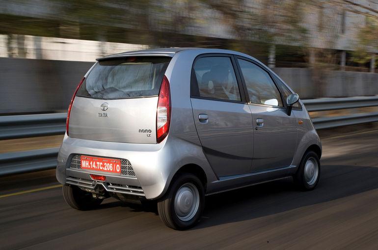 Индийская малолитражка Tata Nano